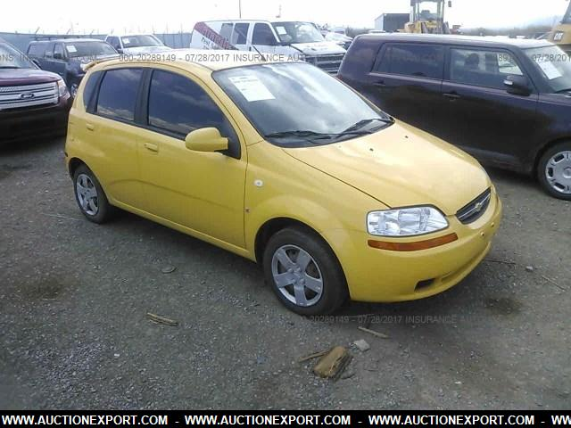 Export 2008 Chevrolet Aveo Ls Car For Sale From Usa To Ghana
