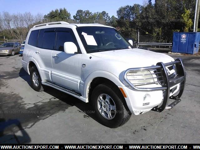 Export 2003 Mitsubishi Montero 20th Anniversary Sport Car For From Usa To Ghana