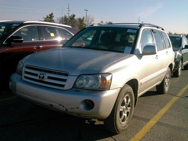 2005 Toyota Highlander Reviews And Rating Motor Trend
